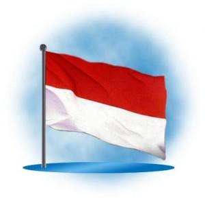 lukisan bendera Merah Putih 300x293 lukisan bendera Merah Putih