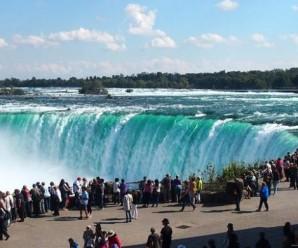 Menikmati Pelangi di Niagara